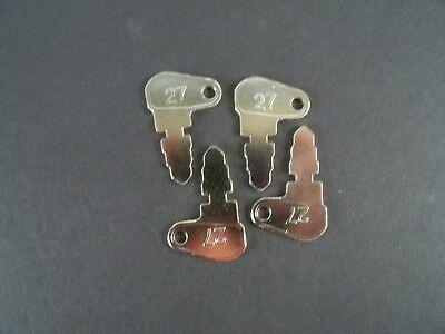 4 Case John Deere Massey Ferguson Baraga Lift Terramite Aftermarket Keys 27