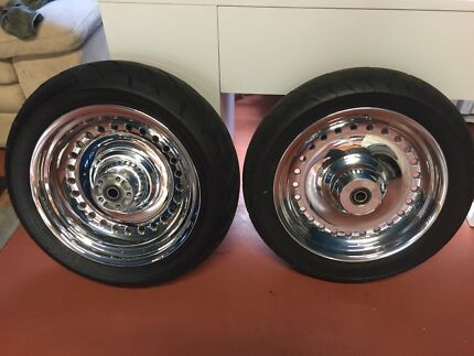 2012 Harley Davidson Polished Wheels  Craigmore Playford Area Preview