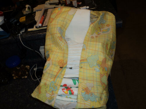 YELLOW DUCKY AND RABBIT, diaper stacker., USED ON ADULT DIAPERS TOO