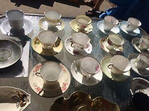 14 teacup and saucer china sets