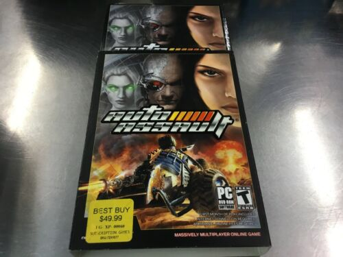 Auto Assault (PC GAME) Brand New Factory Sealed. Free Fast Shipping!