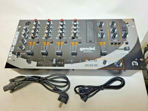 Gemini Pro Stereo Preamp Mixer PS-800 Pro, W/ European Cord And USA Cord 115/220