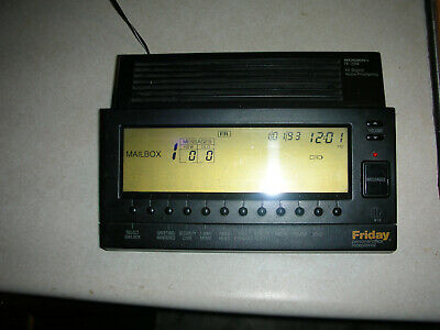Bogen FR-2000 Friday Personal Office Receptionist 2-Line Answering Machine