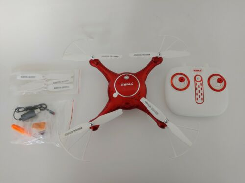 Syma Camera Drone Headless Helicopter Quadcopter Toys Red With Camera  - $34.99