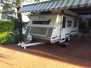 Roadstar poptop caravan 2001 limited edition 17ft 6in Nelson Bay Port Stephens Area Preview
