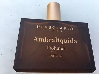Ambra Liquida Erbolario 50ml Used Bottle Spritzed A Few Times Only