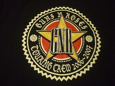 Guns n' Roses Stage Crew Shirt ( Used Size XL ) Nice Condition!!!