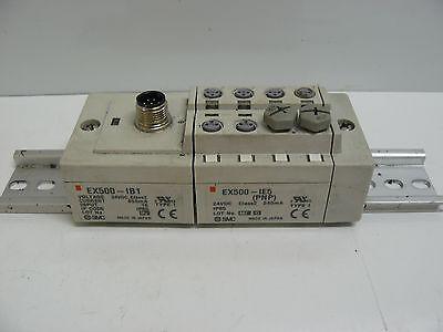 500 Base Unit - SMC EX500-IB1 DEVICENET INPUT BASE UNIT WITH EX500-IE5 INPUT BLOCK