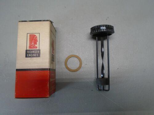 """Vintage OEM Tecumseh Gas Gauge, 4-1/2"""" Depth, Minibike, 31573"""