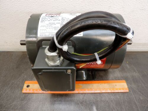 Lincoln LM10346A 1/3 Hp 1725 Rpm Electric Motor 3ph 230/460 VAC Encoder Ready