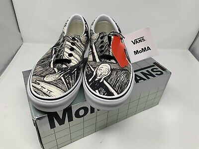 NEW Vans MOMA The Scream Edward Munch Era Men's Size 11