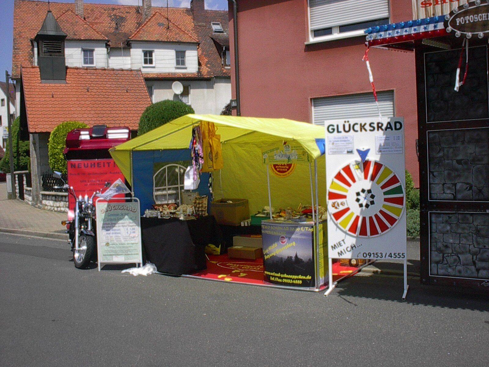 Profi-Glücksrad - EVENT für Firmen, Messe, Sonderschau, Ausstellung etc