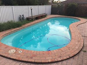 Swimming pool Ingleburn Campbelltown Area Preview