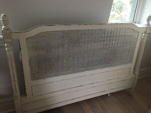 Antique French Country Headboard