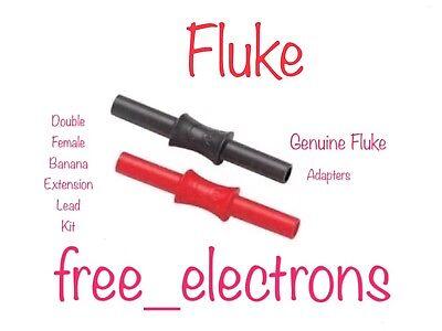 Fluke Multimeter Double Female Ext Adapter TL221 TL224 TP175 TP1 TP2 TL71 AC285
