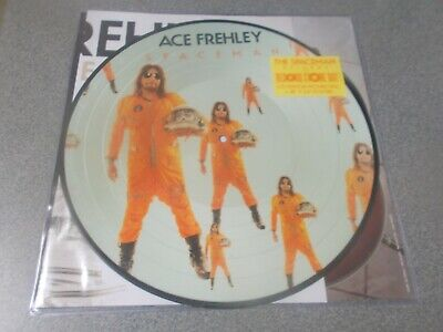 Ace Frehley Spaceman picture disc with poster Kiss related LP 2019 RSD Sealed!
