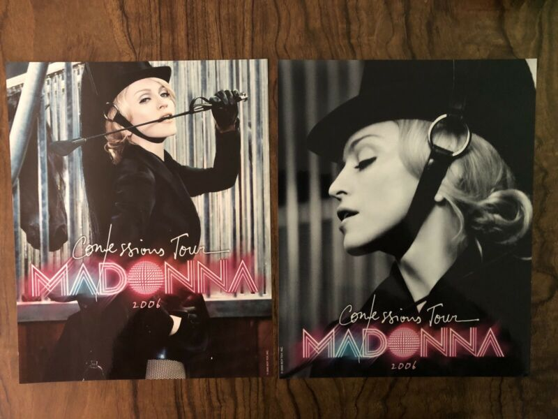 MADONNA Confessions Tour Original Official Promo Poster Display Boy Toy 2006