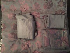 Double comforter set x 2