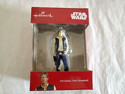 Hallmark 2018 Disney Star Wars Han Solo Red Box Christmas Ornament