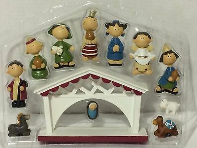 HOLIDAY INSPIRATIONS 12 PIECE RESIN CHRISTMAS NATIVITY SET