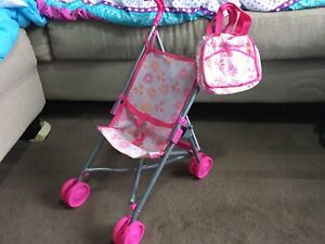 Baby doll stroller and bag