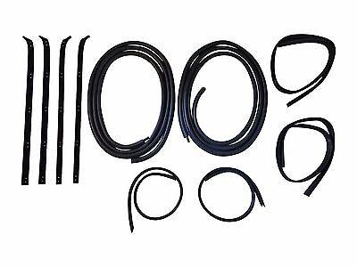 (New Door Window Weatherstrip Seal Kit-10 Pieces, For Dodge D150 W150, 1980-1993)