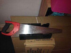 Handsaw whit angle block 10$