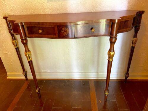 MAITLAND SMITH Regency Style Mahogany  Console Table