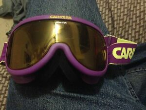 Vintage ski snowboard goggles Carrera 80s early 90s cool!!!