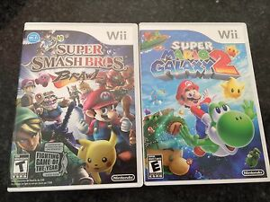 NINTENDO Wii Games LIKE NEW MINT & COMPLETE RARE
