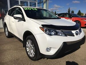 2014 Toyota RAV4 Limited, AWD, CINNAMON LEATHER INTERIOR