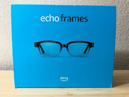 Brand New & Sealed Amazon Echo Frames 2nd Gen Smart Glasses - Horizon Blue