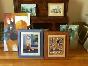 PAINTINGS - ORIGINAL OIL IMPRESSIONIST, MODERN, REALIST FROM $35 Caulfield North Glen Eira Area Preview