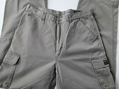 NAUTICA Clipper Chino Khakis Pants Size W36 X L34 Beige Flat Front Relaxed Fit
