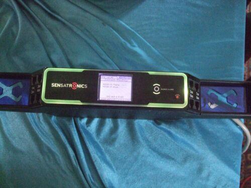 SENSATRONICS Senturion Environmental Sensing Rack Mount Display Sensor / Monitor