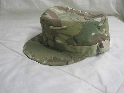 GENUINE US  ARMY ISSUE MULTICAM PATROL CAP W/ MAP POCKET  SZ. 7 1/2 (LARGE)
