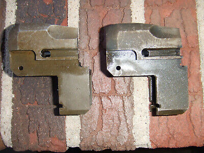 Two M1 Garand Demilled Front Receiver Halves  Good For Display
