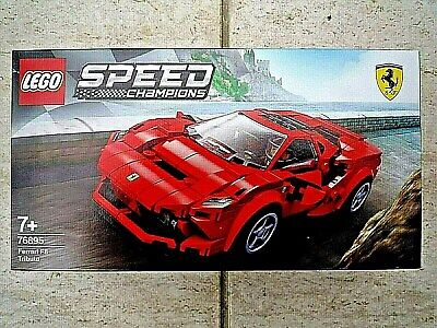 New LEGO Speed Champions  FERRARI F8 Tributo - Age 7+ yrs. -  Item No..76895