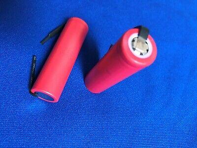 2 of Li-ion 18650 Japan Panasonic Cylind.3.7V2.6Ah Rechargea