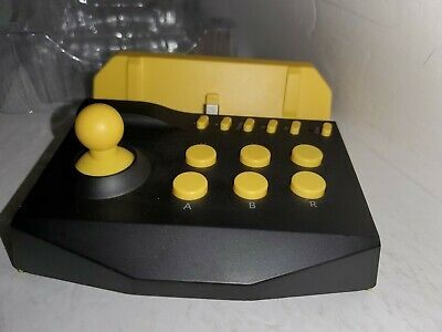 NEW Yellow & Black Turbo Arcade Joystick Controller For Nintendo Switch Lite