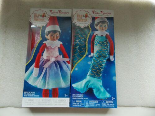 NEW Elf on the Shelf Lot of 2: Merry Merry Mermaid Tail + Pastel Princess Dress
