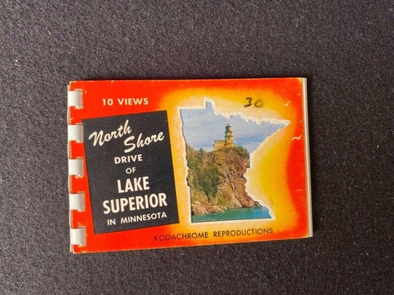 1956 North Shore Drive Of Lake Superior In Minnesota Miniature Album