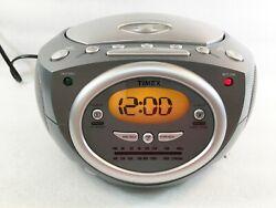Timex T602G Stereo CD Dual Alarm Clock Radio