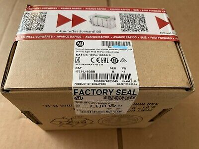 2020 New Sealed Allen Bradley 1763-l16bbb Ser B Micrologix 16 Point Controller