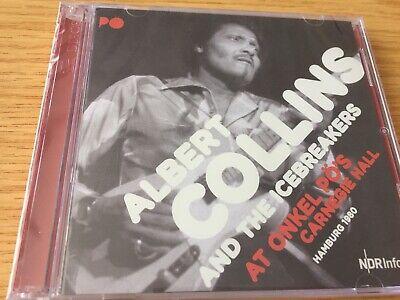 ALBERT COLLINS * At ONKEL PO'S CARNEGIE HALL * NEW & SEALED...