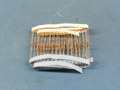 THREE FEET! Of Reel Parts 100+ 330pf XR7 Glass Encapsulated Chip Capacitors