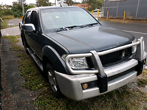 2007 NISSAN NAVARA ST X DUAL CAB TURBO DIESEL AUTOMATIC LOW KMSHe Springwood Logan Area Preview