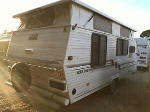1996 Coromal Poptop - Island Double - Rollout Awning Warragul Baw Baw Area Preview