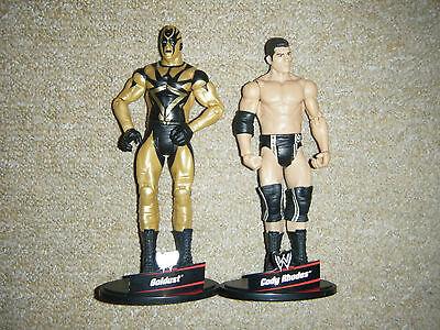 Goldust Cody Rodi The Brotherhood Mattel Basic Action 4 Wrestling Figure WWE