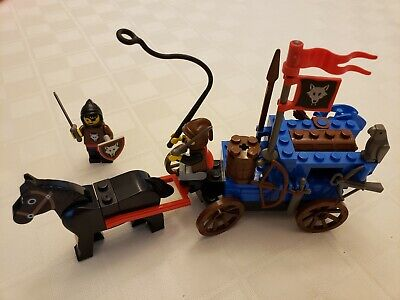 LEGO Castle Wolfpack Renegades set 6038 - 100% Complete vintage 1992